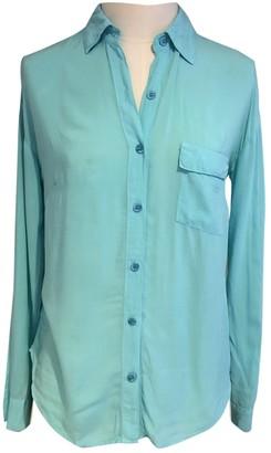 Splendid Blue Cotton Top for Women