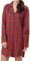Mud Pie Plaid Night Shirt