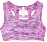 Ideology Space-Dye Sports Bra, Big Girls (7-16), Only at Macy's