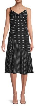 Nanette Nanette Lepore Twin Print Panel Slip Dress