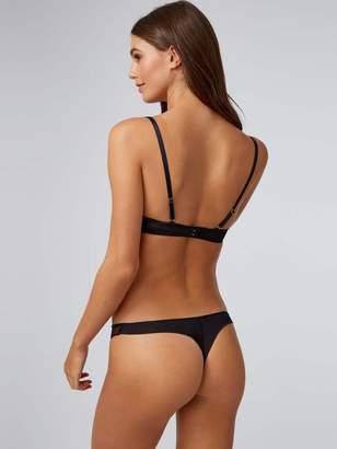Boux Avenue Felicity Padded Balconette Bra - Black/Nude