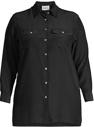 Baacal, Plus Size Taylor Silk Shirt