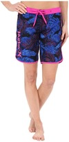 "Hurley Supersuede Printed 9"" Beachrider Boardshorts"
