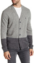 Original Penguin Colorblock Knit Cardigan