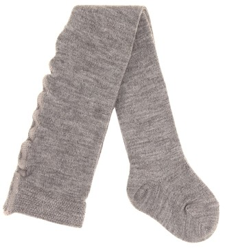 Il Gufo Cashmere-blend leggings