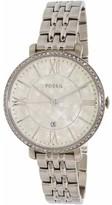 Fossil Women's Jacqueline ES3922SET Silver Stainless-Steel Quartz Fashion Watch