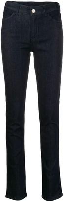 Emporio Armani high waisted skinny jeans