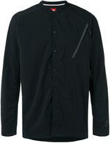 Nike bomber collar techno shirt