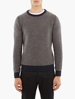 A.P.C. Navy Wool Serges Sweater