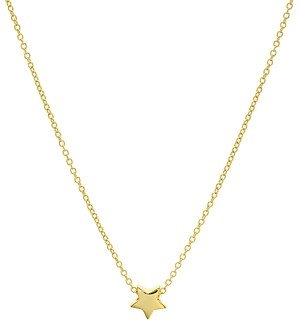 Aqua Star Pendant Necklace in 14K Gold-Plated Sterling Silver or Sterling Silver, 16 - 100% Exclusive