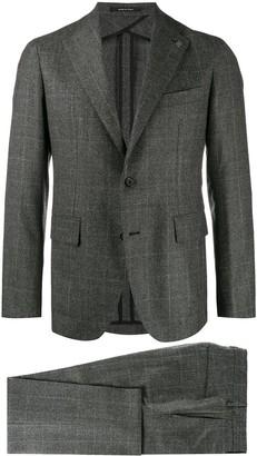 Tagliatore Check Suit