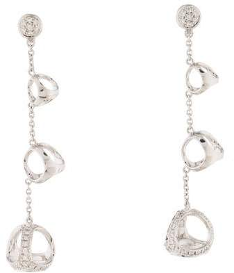 Di Modolo 18K Diamond Triadra Drop Earrings