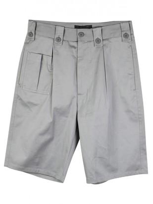 Christopher Kane Grey Cotton Shorts