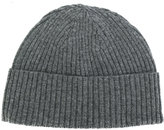Closed ribbed beanie