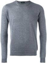 Zanone crew neck jumper - men - Cashmere - 46
