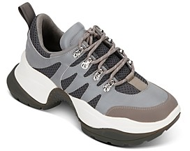 Kenneth Cole Women's Maddox 2.0 Mixed Media Sneakers