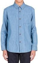 Volcom Hudson Chambray Shirt (Toddler Boys & Little Boys)