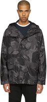 Belstaff Grey Sophnet Edition Camo Jacket