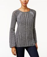 Style&Co. Style & Co Petite Textured Sweater, Only at Macy's