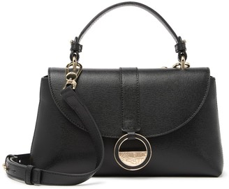 Versace Saffiano Leather Small Satchel