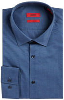 HUGO Pin Dot Cotton Dress Shirt