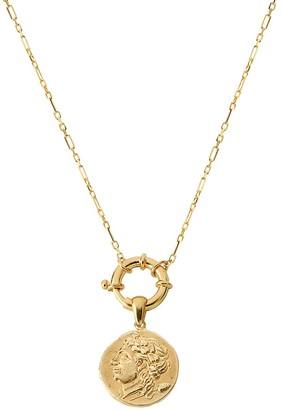 GABIRIELLE JEWELRY Coin Pendant Necklace