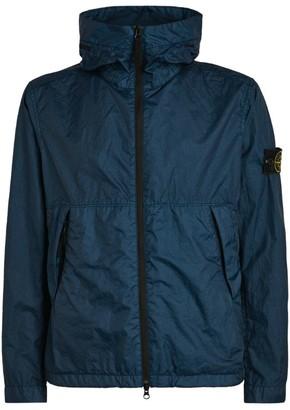 Stone Island Zip-Up Windbreaker Jacket