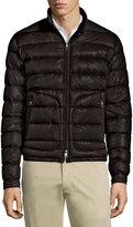 Moncler Acorus Quilted Nylon Puffer Jacket, Black