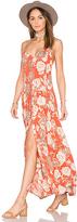 Amuse Society Venetta Dress in Orange. - size L (also in )