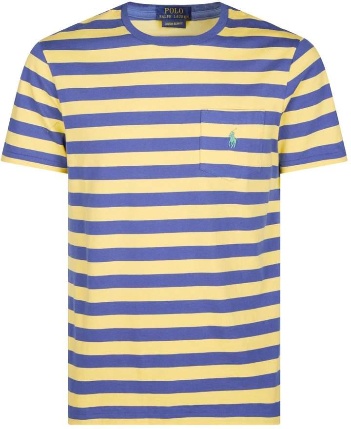 Polo Ralph Lauren Stripe Chest Pocket T-Shirt