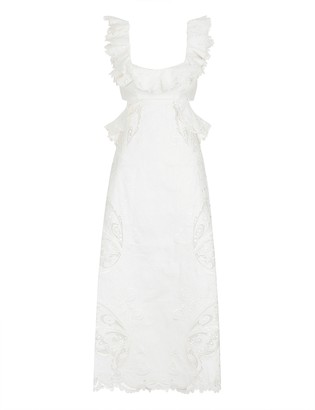 Zimmermann Super Eight Embroidered Dress