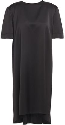 Cédric Charlier Satin-crepe Mini Dress