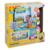 Alex Spongebob Mrs Puffs Boating School Bath Toy