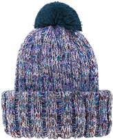Federica Moretti pom pom beanie hat
