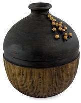 Ceramic vase, 'Achi Elegance'