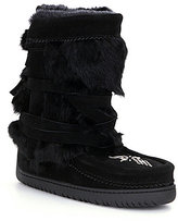 Manitobah Mukluks Fur Half-Wrap Cold-Weather Boots