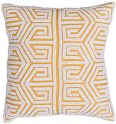 Thro by Marlo Lorenz Geometric Beaded Pillow
