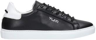 Ylati Sneakers In Black Leather