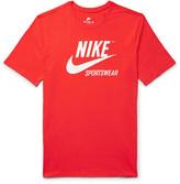 Nike Printed Cotton-Jersey T-Shirt
