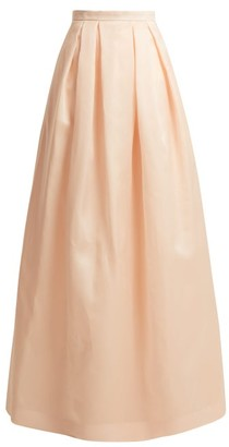 Andrew Gn Full Silk-organza Skirt - Light Pink
