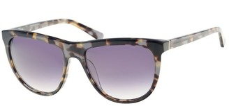 French Connenction Flat Brow Glamour Sunglasses