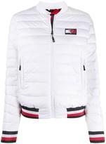 Tommy Hilfiger x Rossignol zip-up puffer jacket