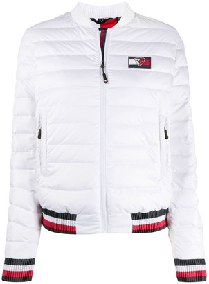 Tommy Hilfiger x Rossignol zip-up puffer jacket