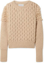 ELEVEN SIX - Mila Cable-knit Sweater - Beige