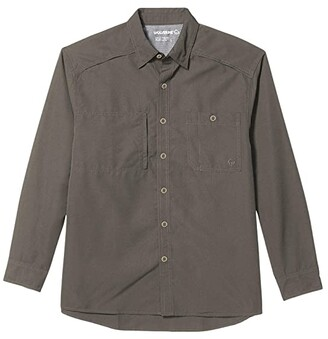 Wolverine Gauge Long Sleeve Shirt (Gunmetal) Men's Clothing