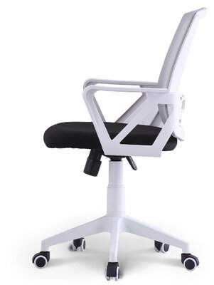Solano Symple Stuff Mesh Conference Chair Symple Stuff Upholstery Color: Gray, Frame Color: White