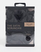 Thumbnail for your product : Kitsch Satin Sleep Scrunchies - Black-No color