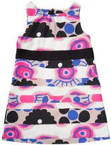 Milly Minis Sleeveless Banded Floral Shift Dress, Multicolor, Size 8-14