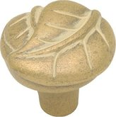 Hickory Hardware P7301-BOA 1-1/4-Inch Touch of Spring Knob, Blonde Antique