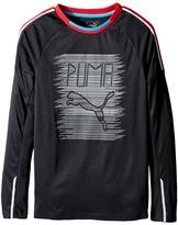 Puma Kids - Fast Lane Long Sleeve Top Boy's Clothing